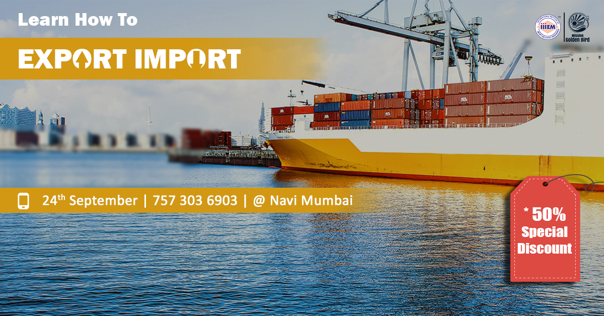 Start Your Own Import and Export Business At Navi Mumbai