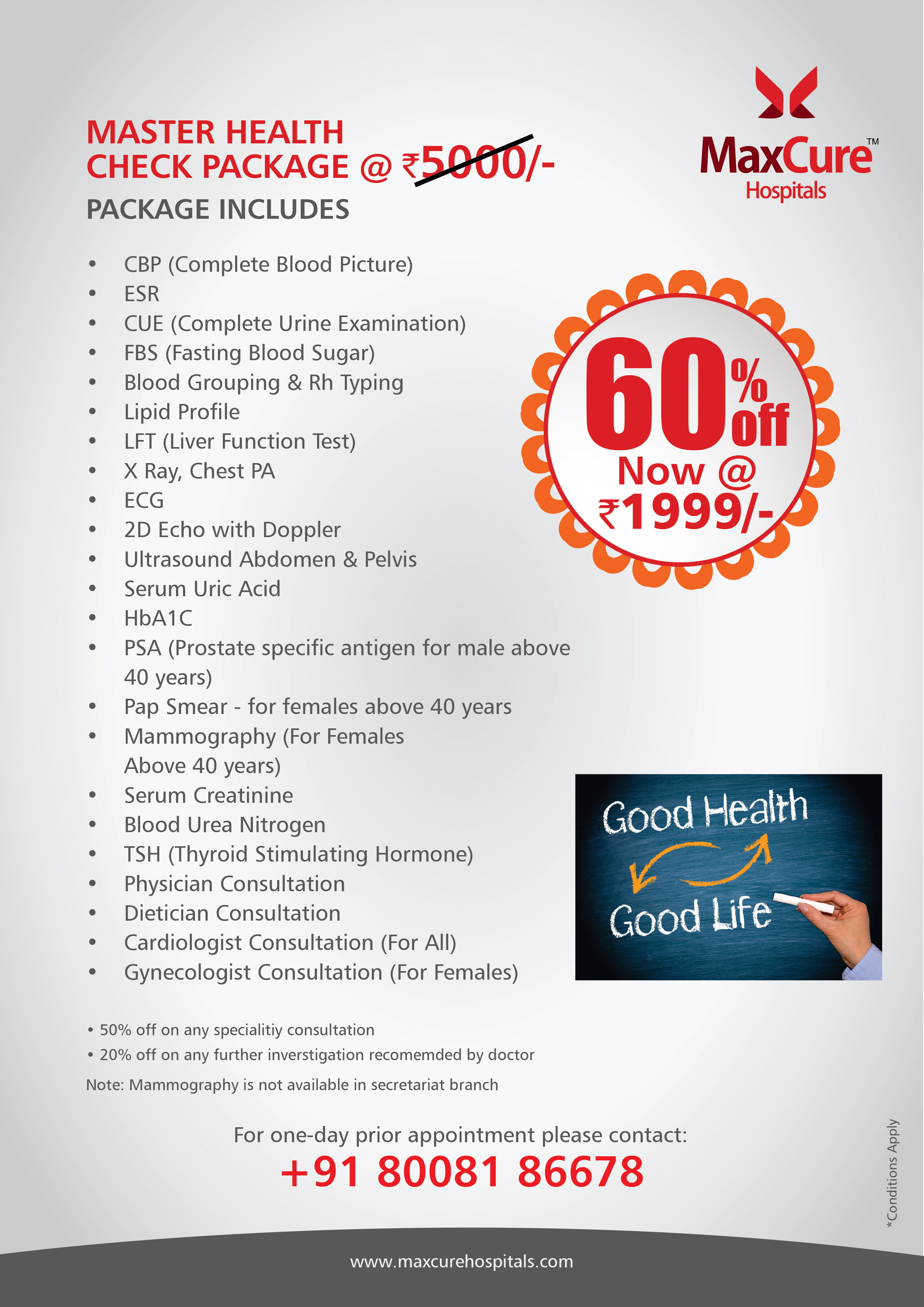 Health checkup packages in Hyderabad