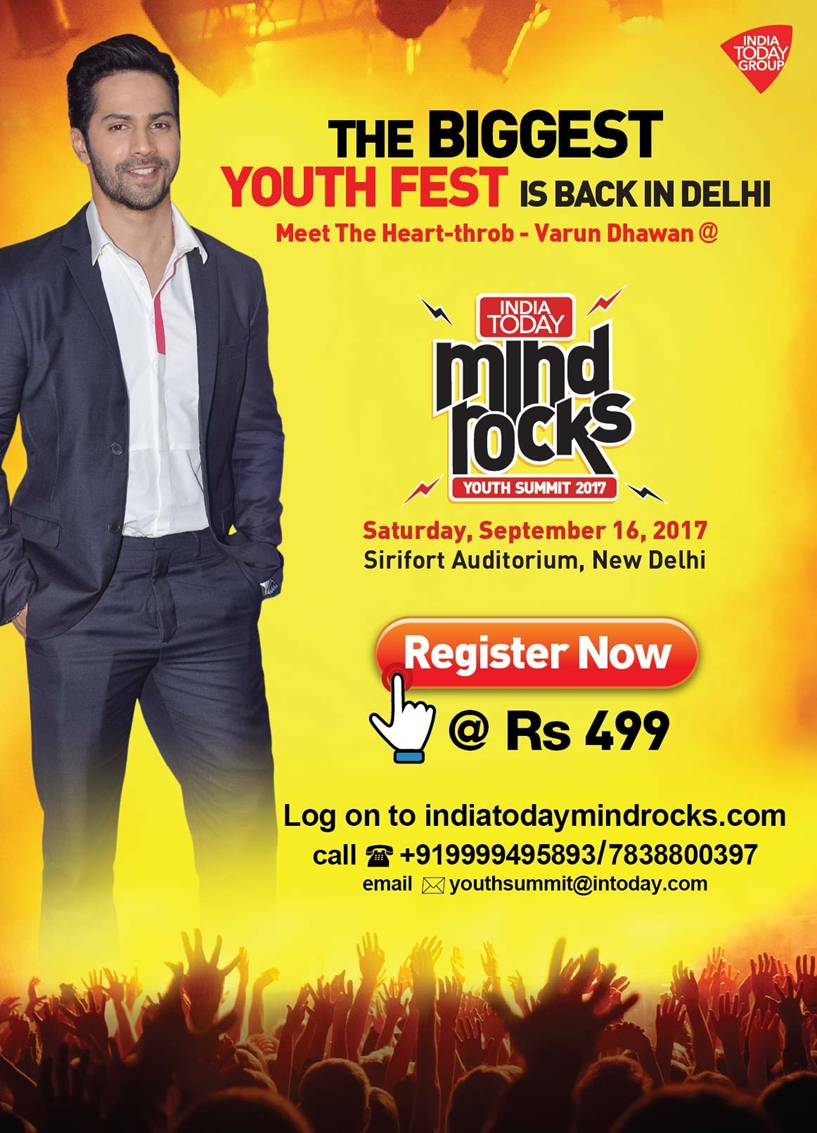 India Today Mind Rocks 2017