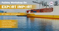 Workshop on Career Opportunities in Export-Import at Bangalore