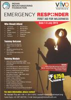 IMF VIVO Emergency Respnder: First Aid for Wilderness