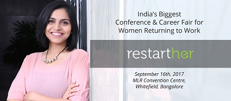 RestartHer: A One-of-its-kind Career Fair for Women on a Break