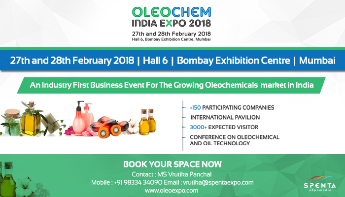 OleoChem India Expo 2018