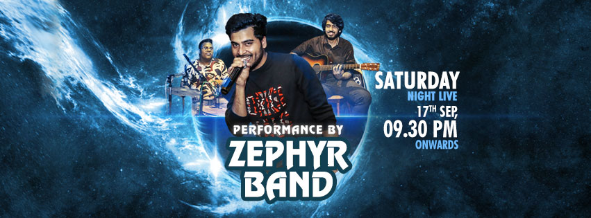 Saturday Live: Zephyr Band is Back!