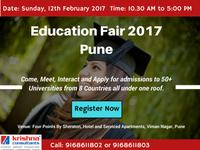 Overseas Education Fair 2017 in Pune