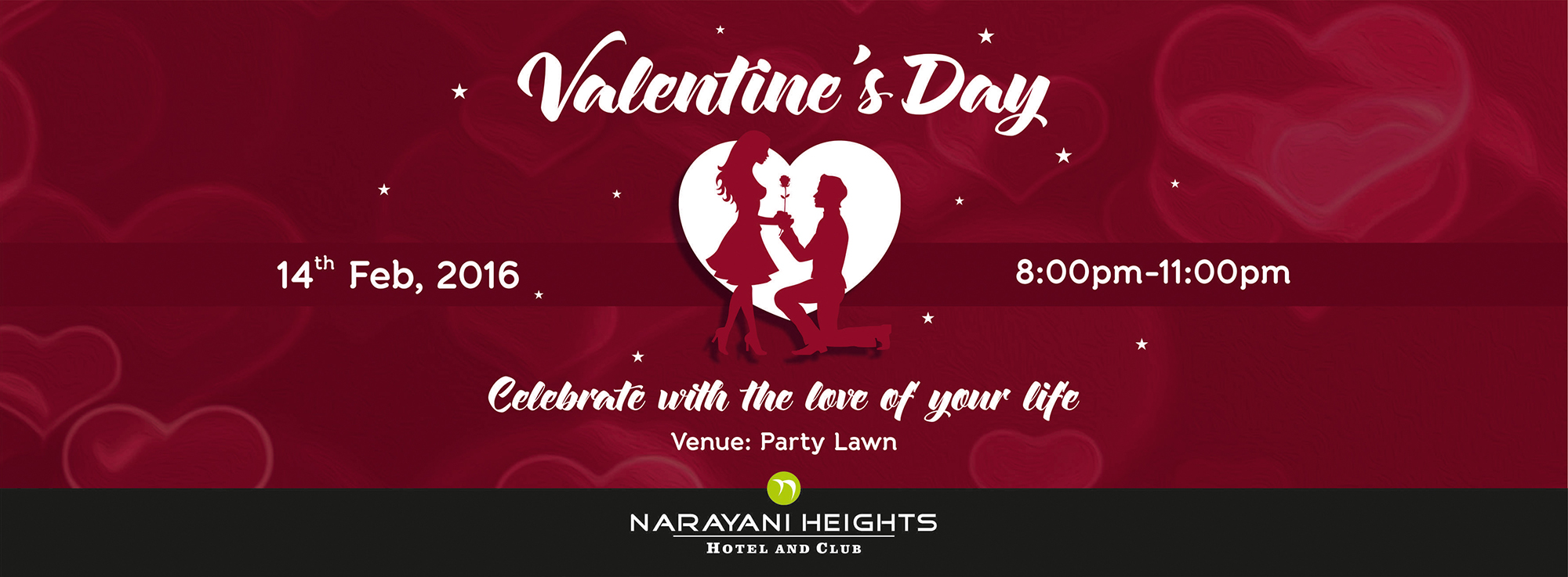 Valentines day for 13th floor bangalore candle light dinner