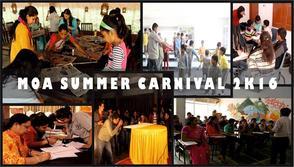 aipur- MOA Summer Carnival 2k16