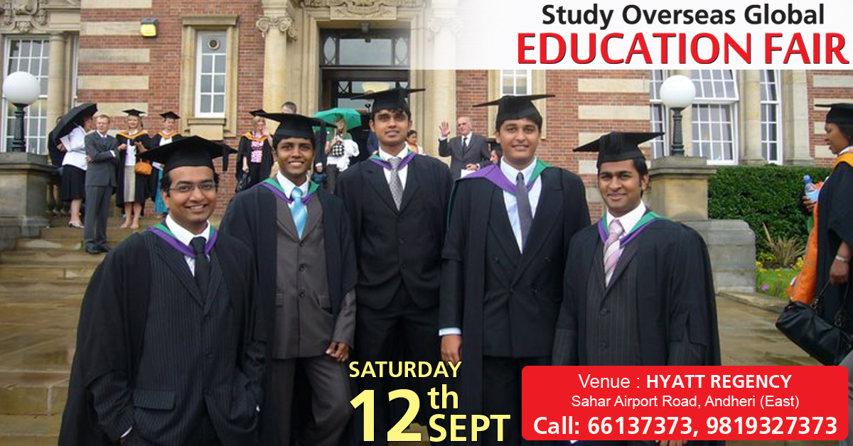 Study Overseas Global Educations Fair September 2015 in Mumbai