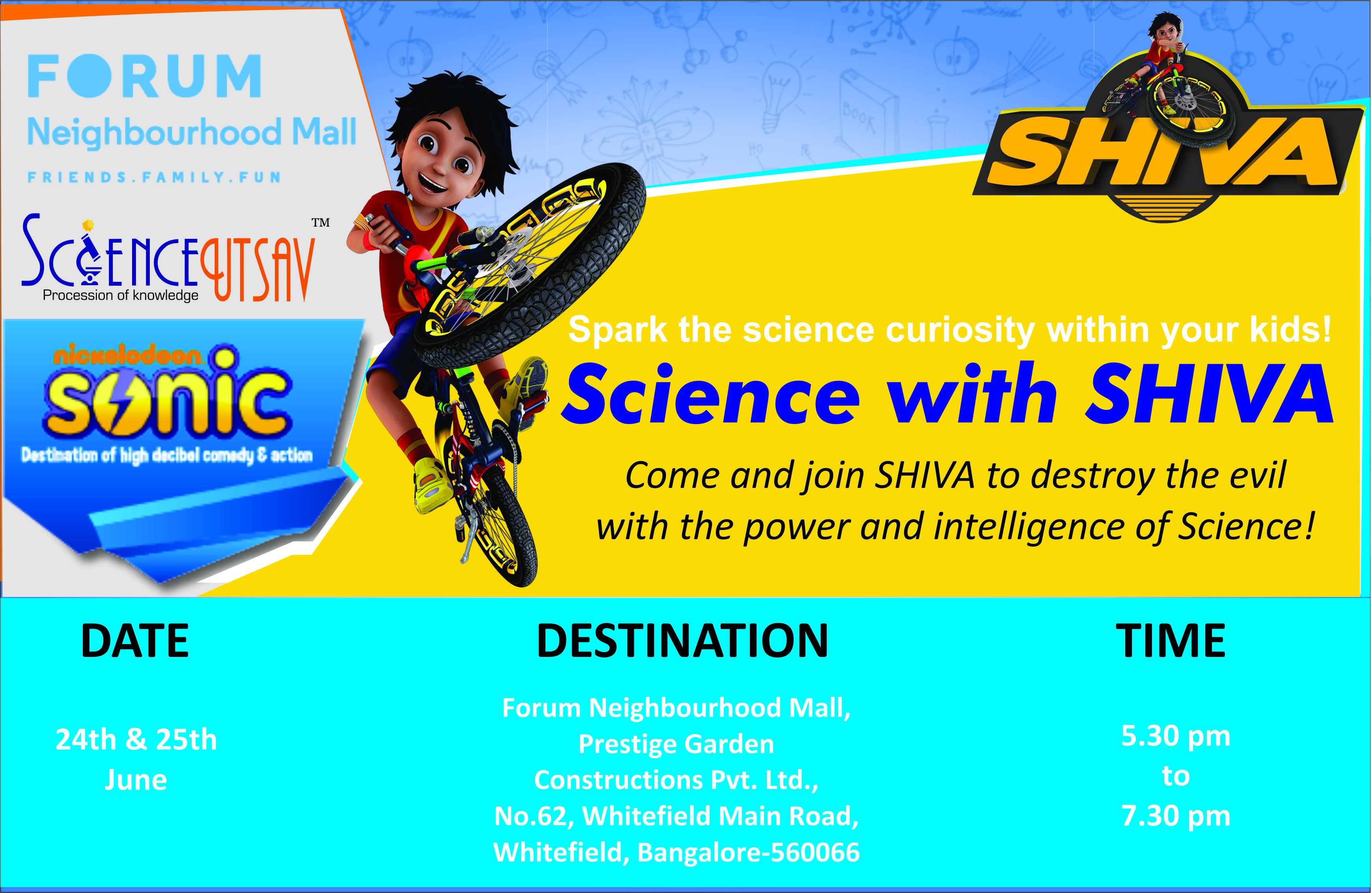 ScienceUtsav Science with Shiva