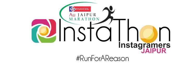 InstaThon - #RunForAReason With Au Jaipur Marathon