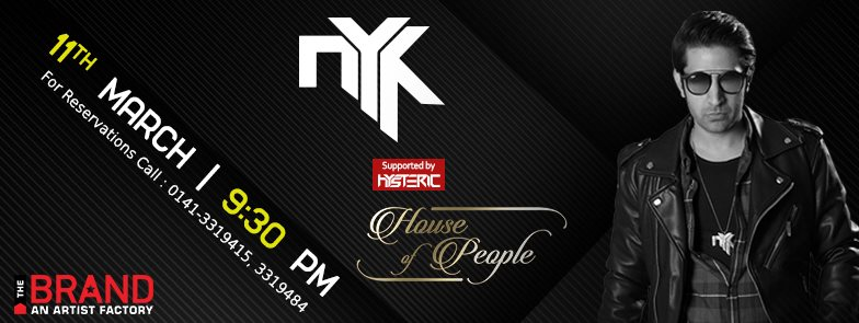 DJ NYK Live at House Of People