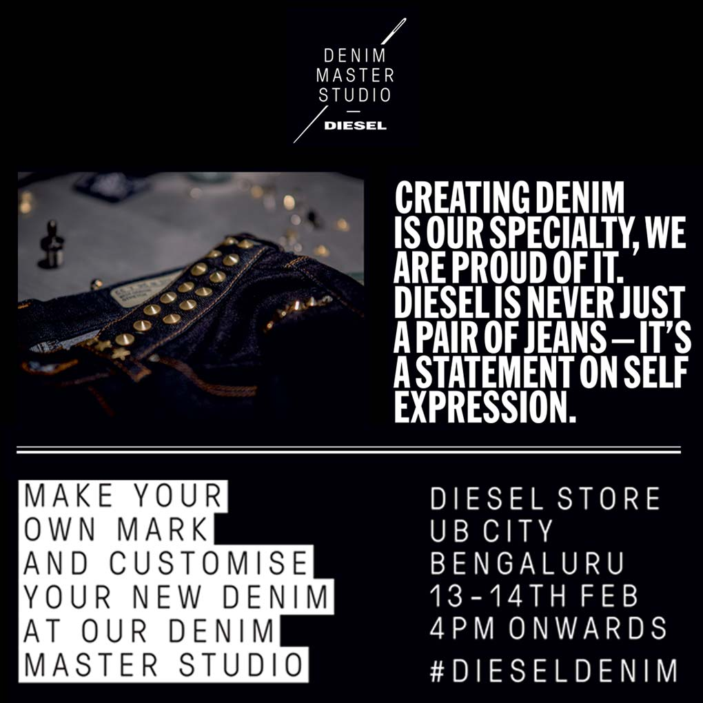 Denim Master Studio by Diesel, UB City