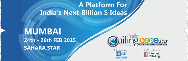 3rd Annual eTailing India Expo-Mumbai 2015 Buy Event Tickets
