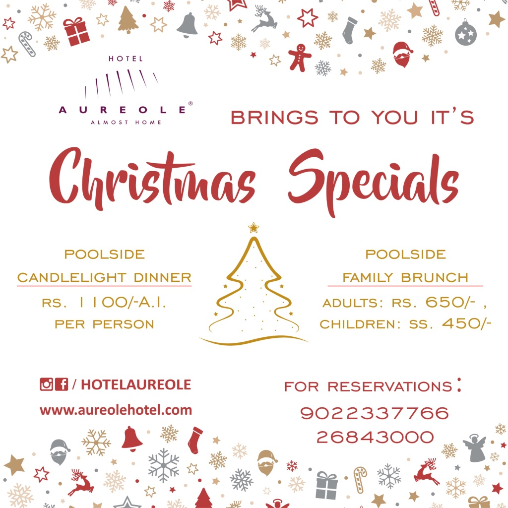 Christmas Special at Aureole Hotel