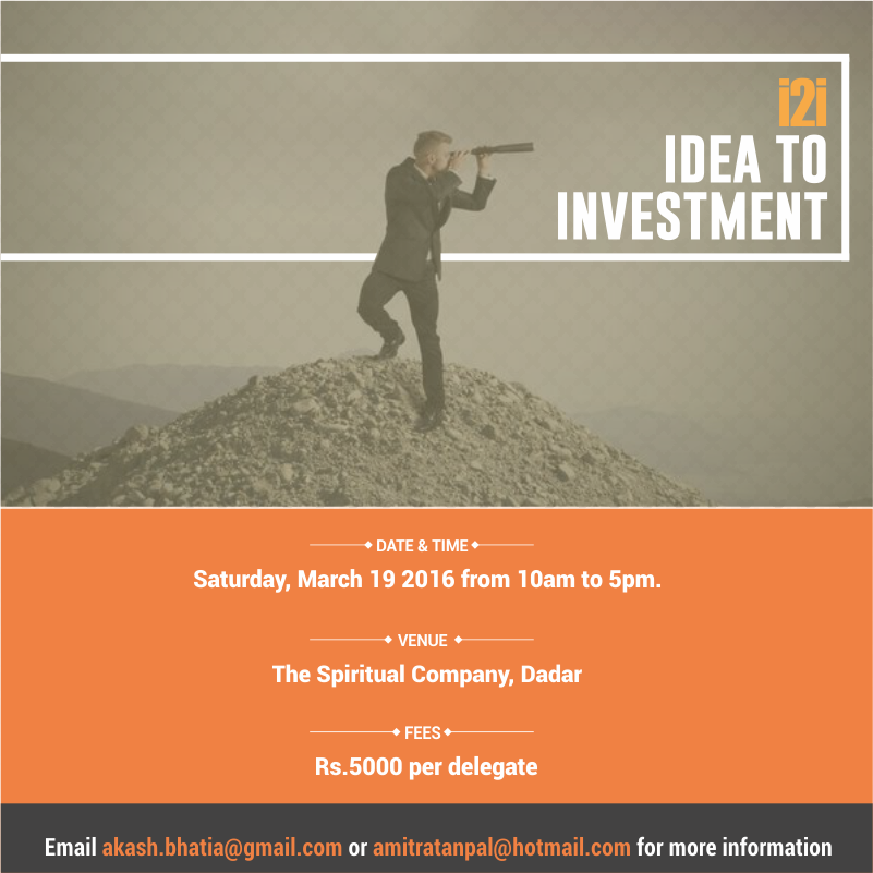 i2i Idea to Investmen