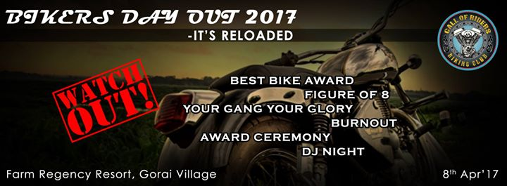 Bikers Day Out 2017 - I'ts Reloaded