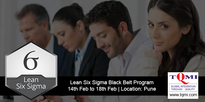 Lean Six Sigma Black Belt Program- week1