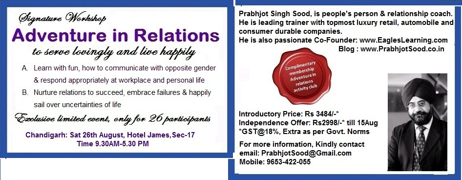 Adventure in Relations: Signature Workshop