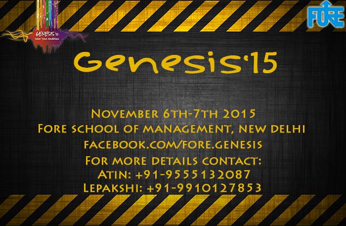 Genesis'15