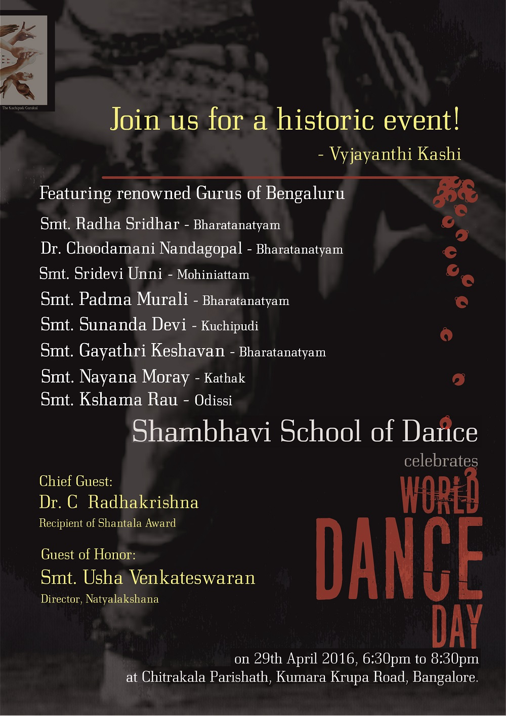 World Dance Day 2016 - Shambhavi School of Dance
