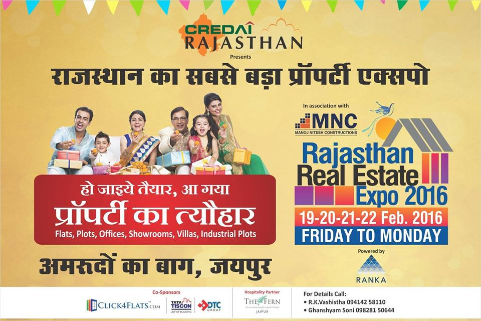 Rajasthan's Biggest Property Expo - 2016