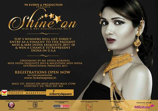 Shine On Miss & Mrs Maharashtra 2017