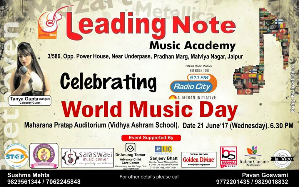 WORLD MUSIC DAY- Celebration