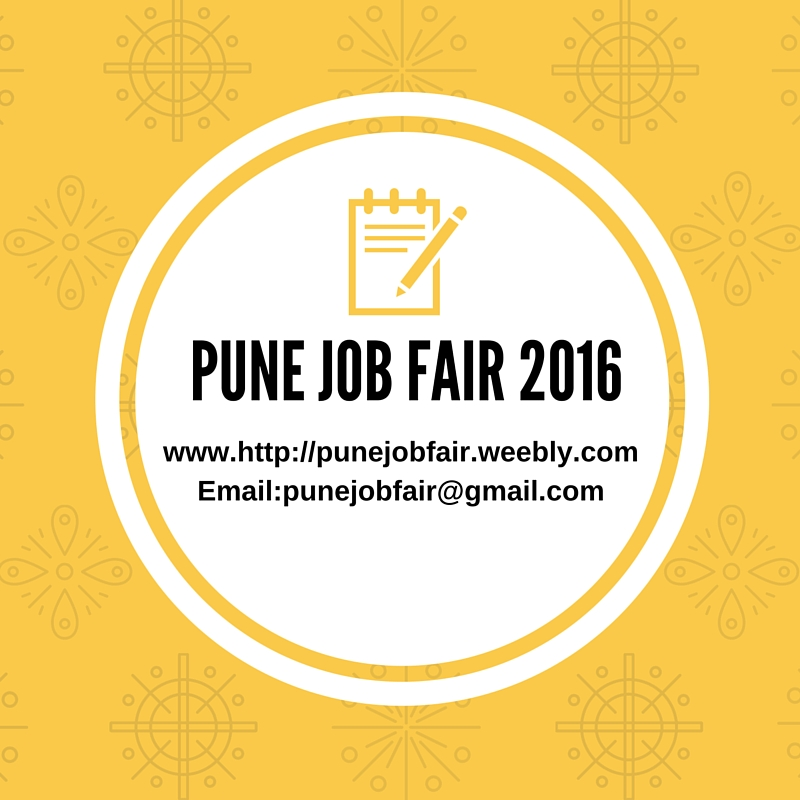 PUNE JOB FAIR - 2016