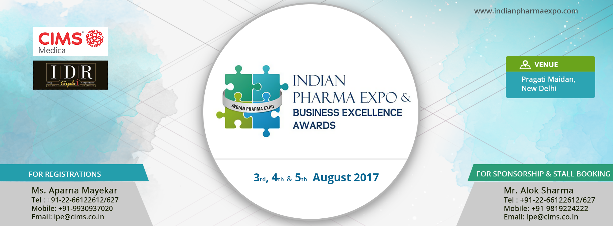 Indian Pharma Expo & Business Excellence Awards 2017
