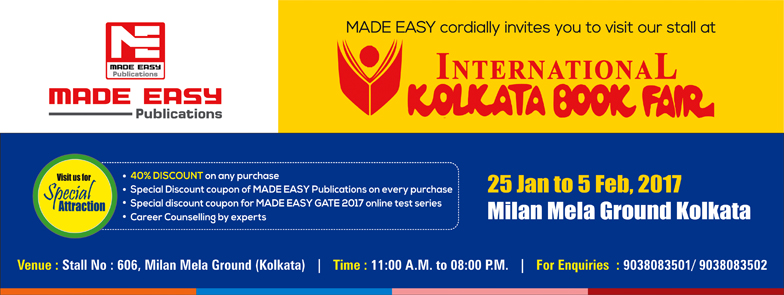 MADE EASY Publications at International Kolkata Book fair