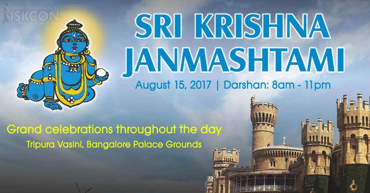 Sri Krishna Janmashtami Celebrations at Palace Grounds