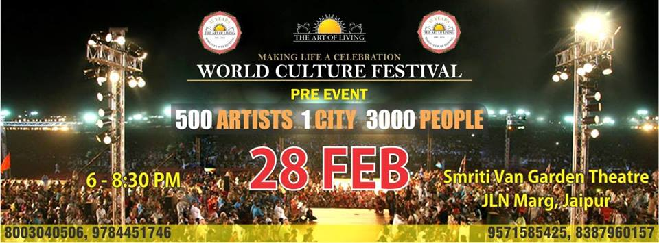 The World Culture Festival Pre Event