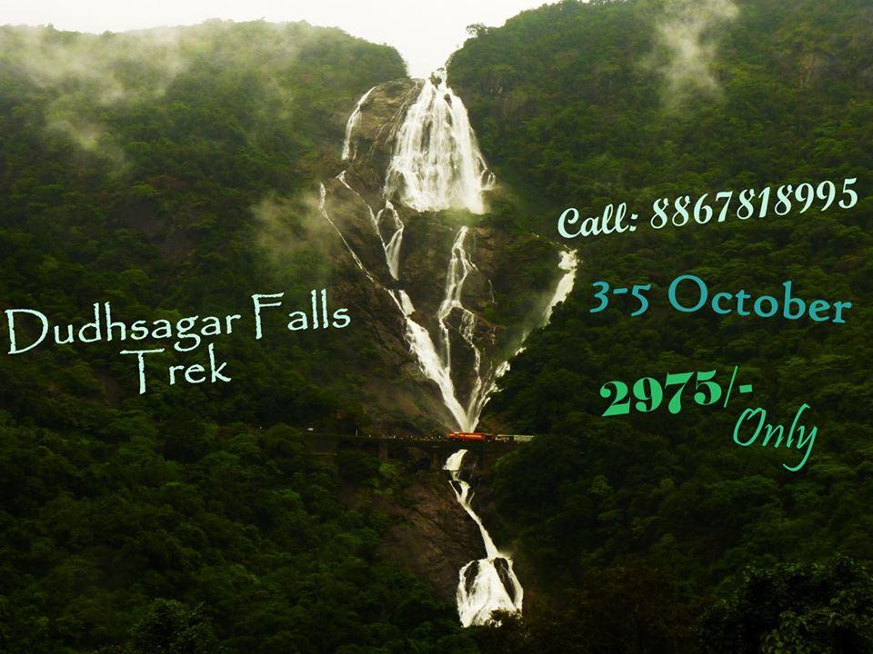 o Goa_Trek!! The Dudhsagar Experience!
