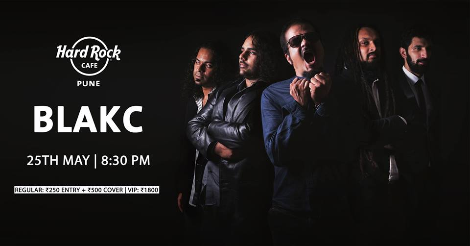 BLAKC live at Hard Rock Cafe Pune