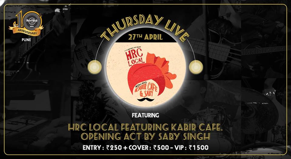 HRC Local featuring Kabir Cafe in Pune