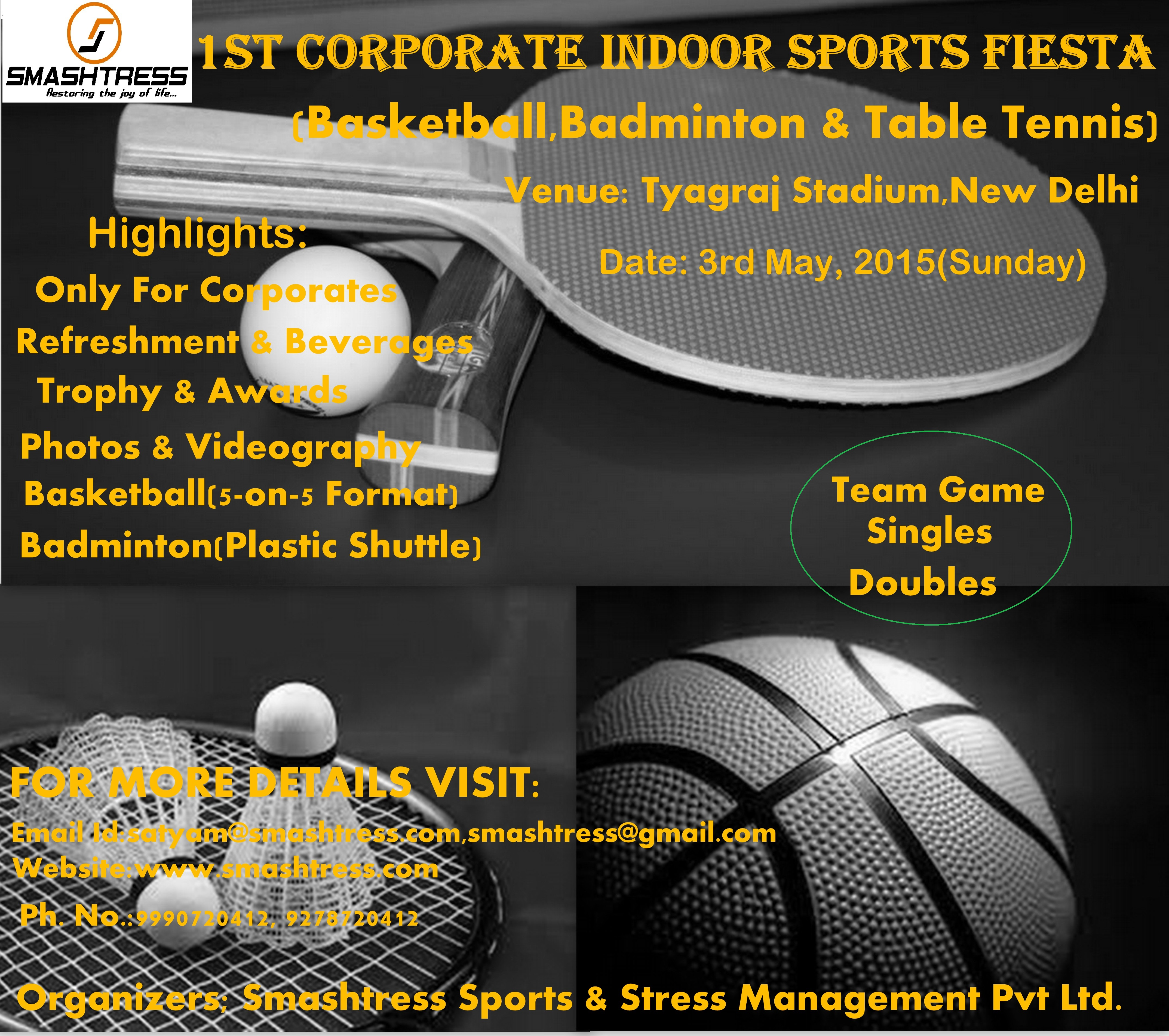 1st Corporate Indoor Sports Fiesta