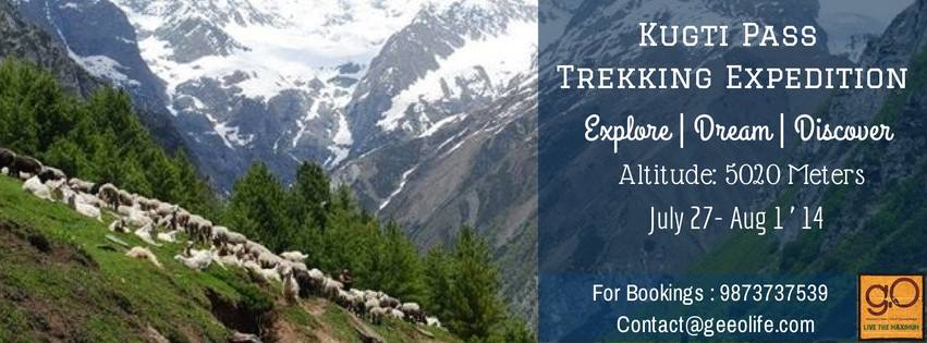 Kugti Pass Trekking Expedition