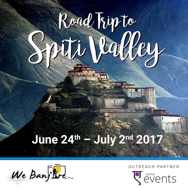 Road Trip to Spiti Valley.