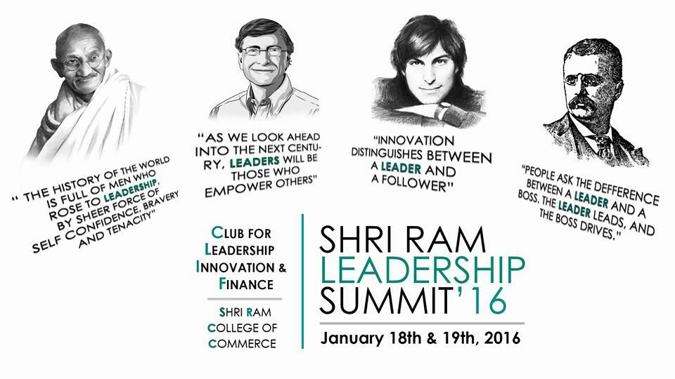 SHRI RAM LEADERSHIP SUMMIT 2016
