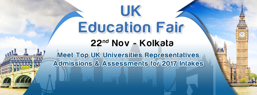 Biggest UK Education Fair 2016 in Kolkata