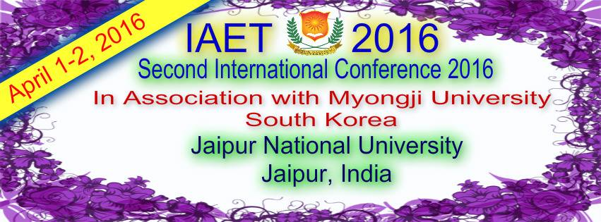International Conference (IAET-2016)
