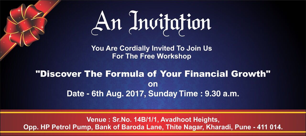 Free Value Added Session on Wealth Creation