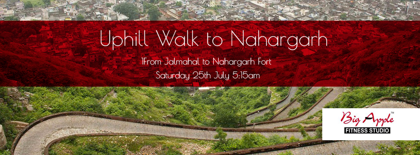 UpHill Walk to Nahargarh - 2nd Edition