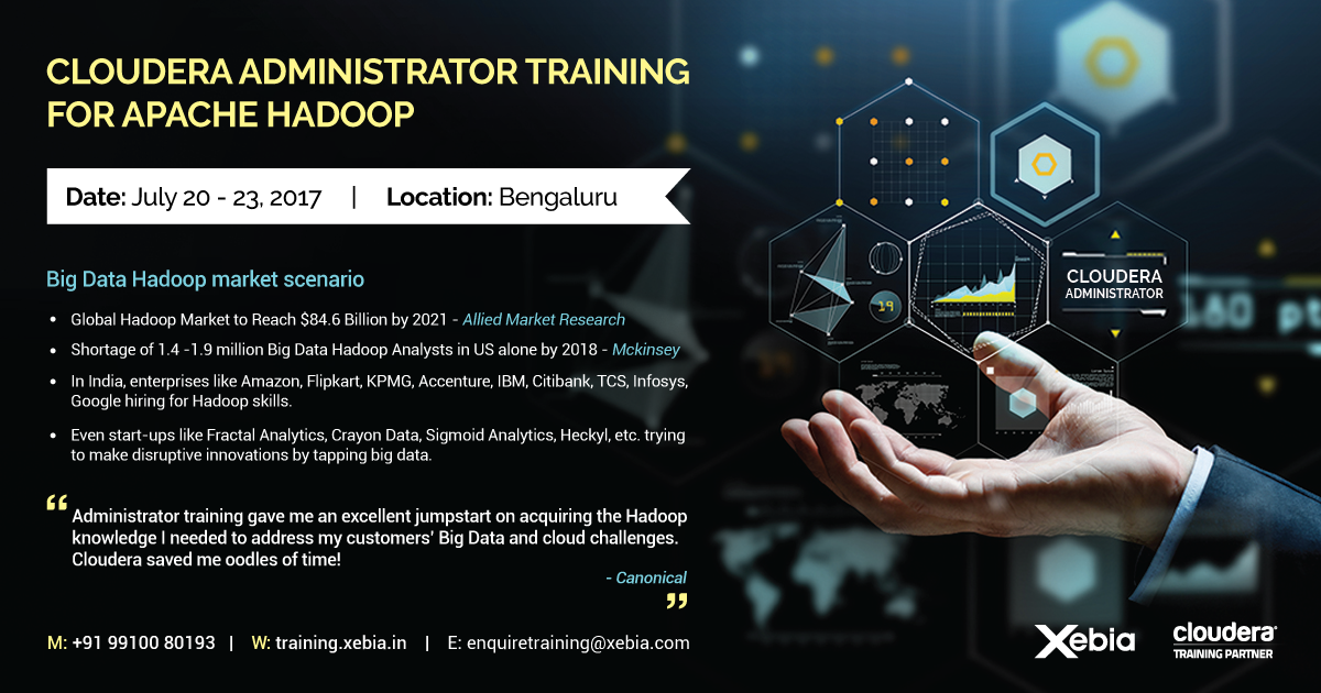 Cloudera Administrator Training & Certification for Apache Hadoop