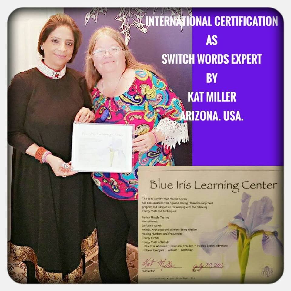 SwitchWords Level 1 & 2 by Blue Iris Trainer Neera Sareen