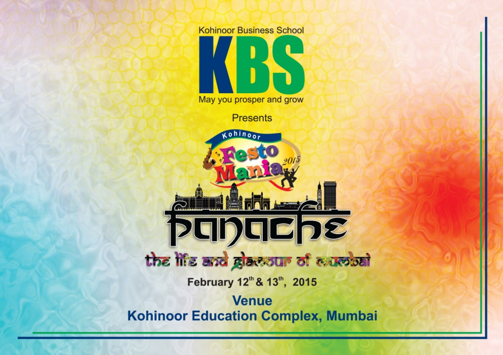 Kohinoor Business School 'Fest-O-Mania – 2015
