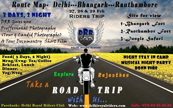Bhangarh Ranthambore Road Trip Session #Feb16