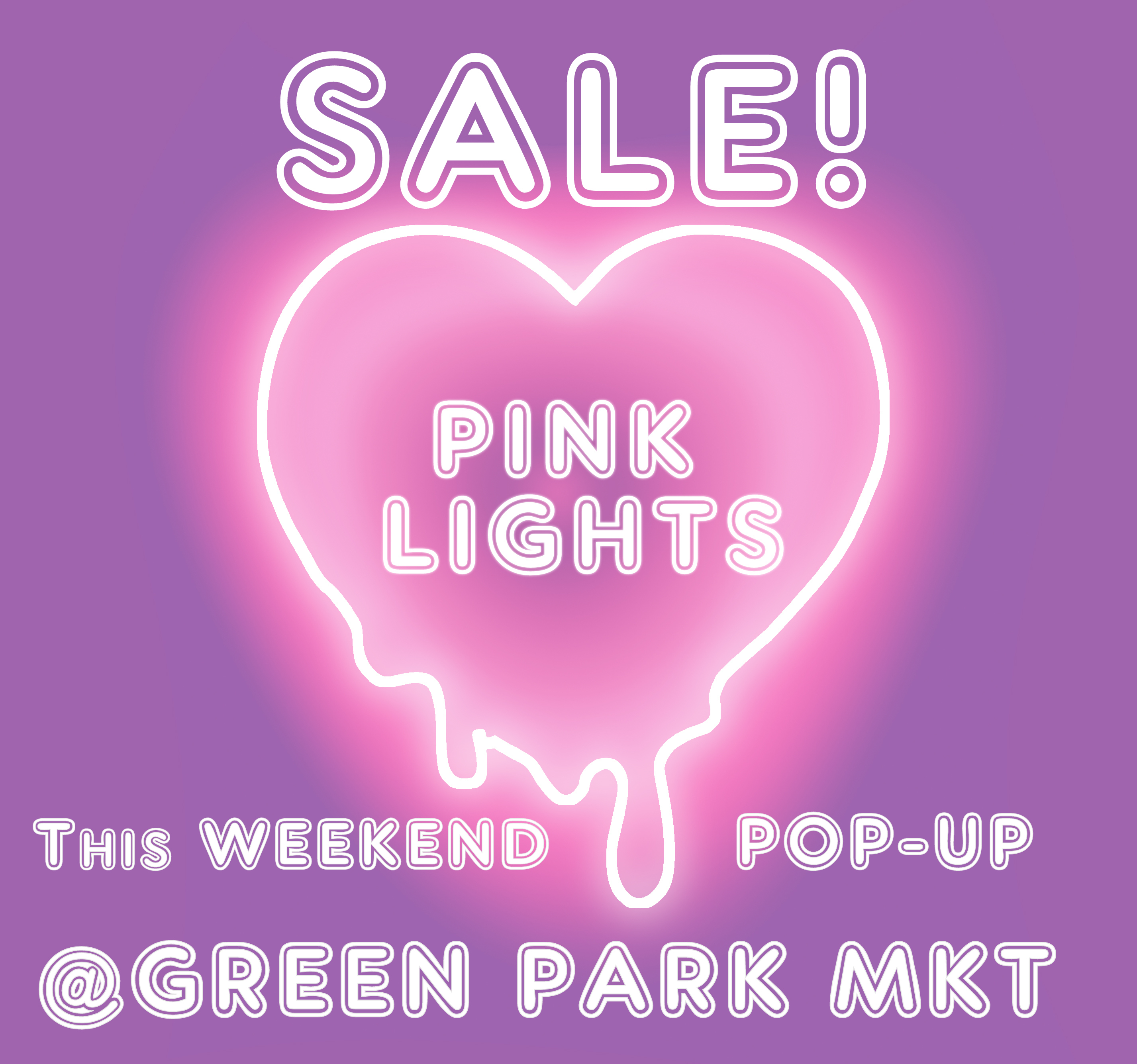 Event - Pink Lights Sale - A Pop-up to grab International trends @Greenpark Market this weekend