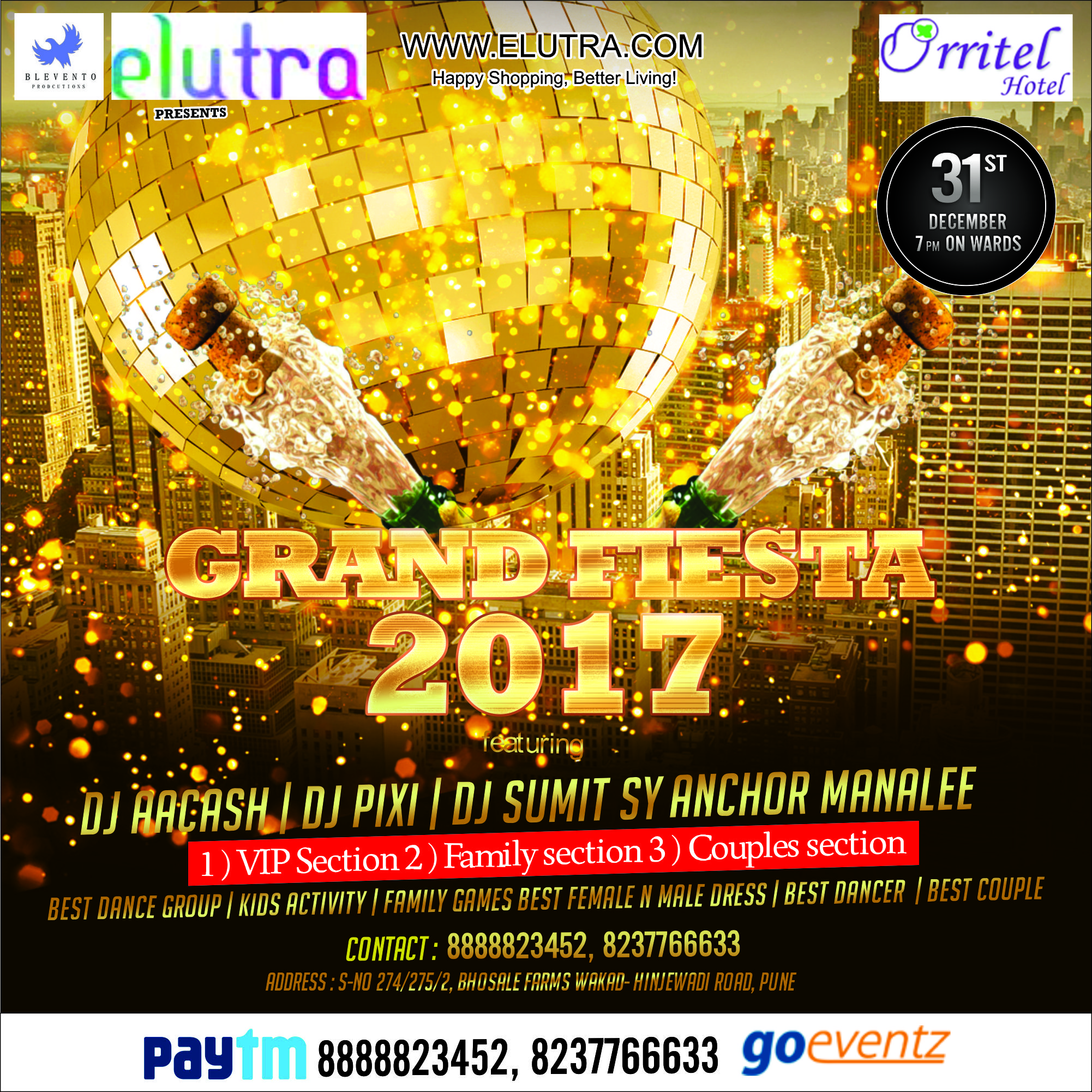 GRAND FIESTA 2017 AN ELUTRA EVENT