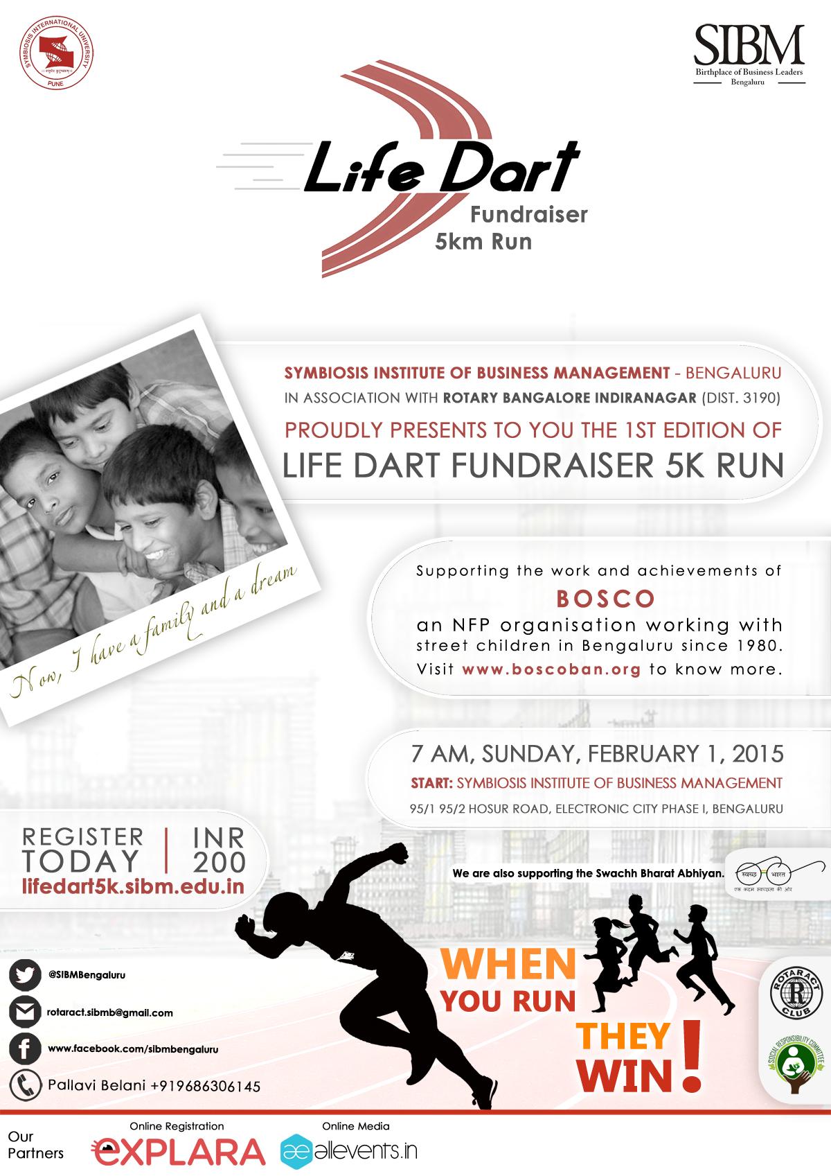 LIFE DART 5K Run